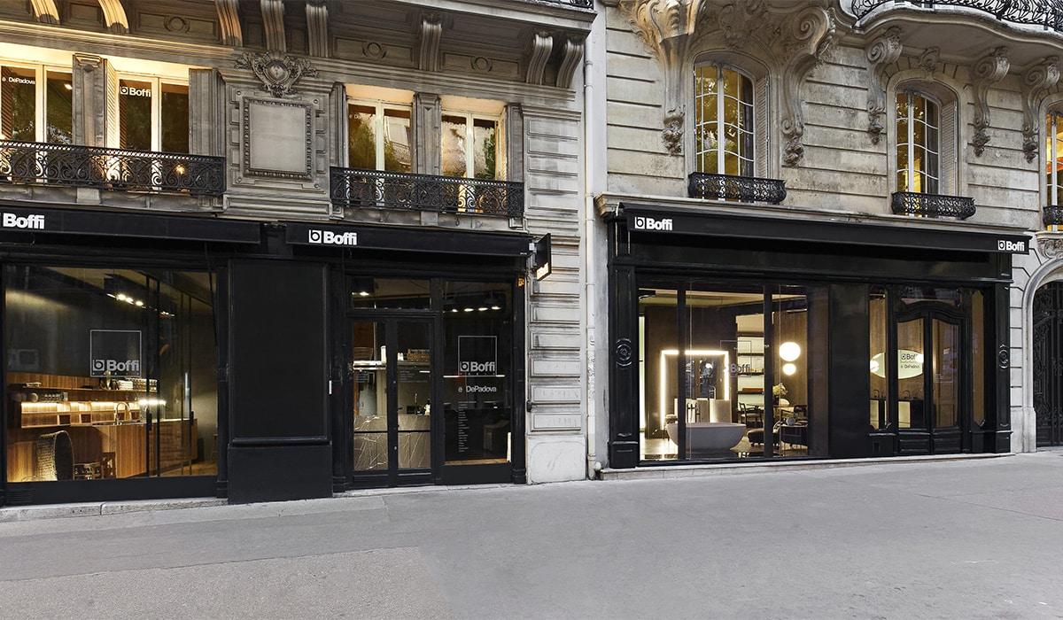 Boffi Bain Paris, un nuovo indirizzo per il bagno