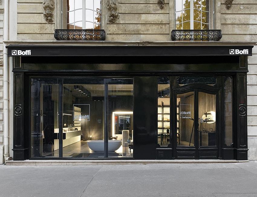 Boffi Bain Paris, new address for bathroom