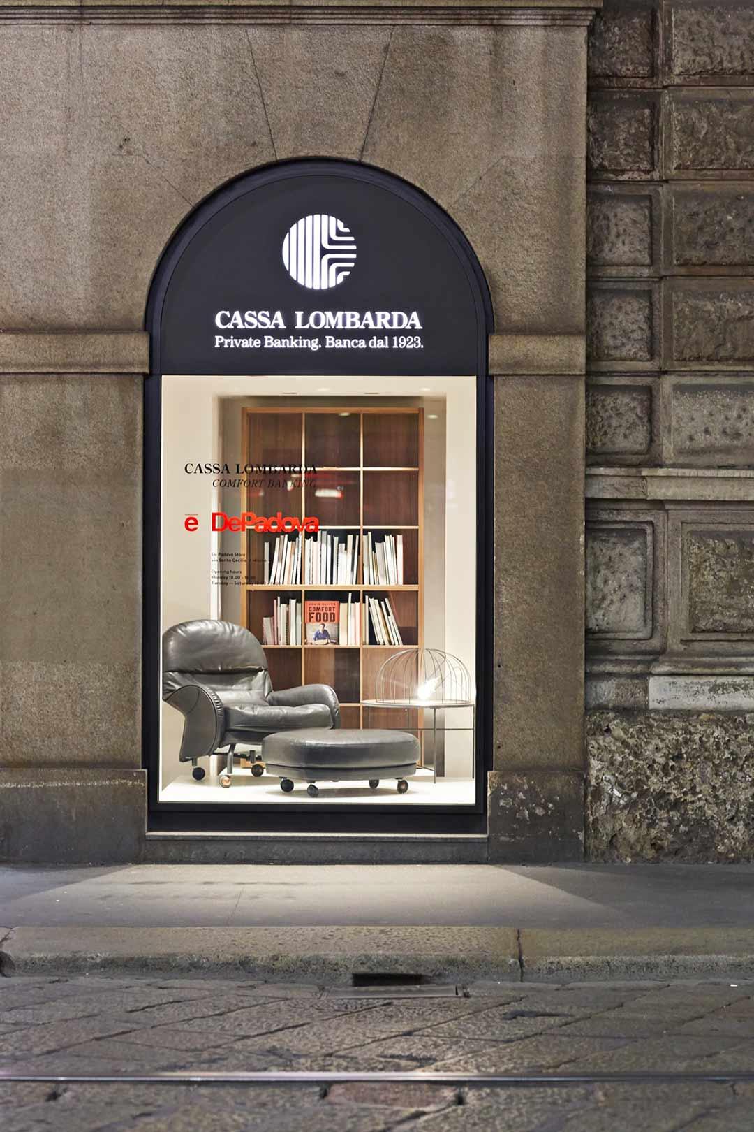 Il salotto di Cassa Lombarda