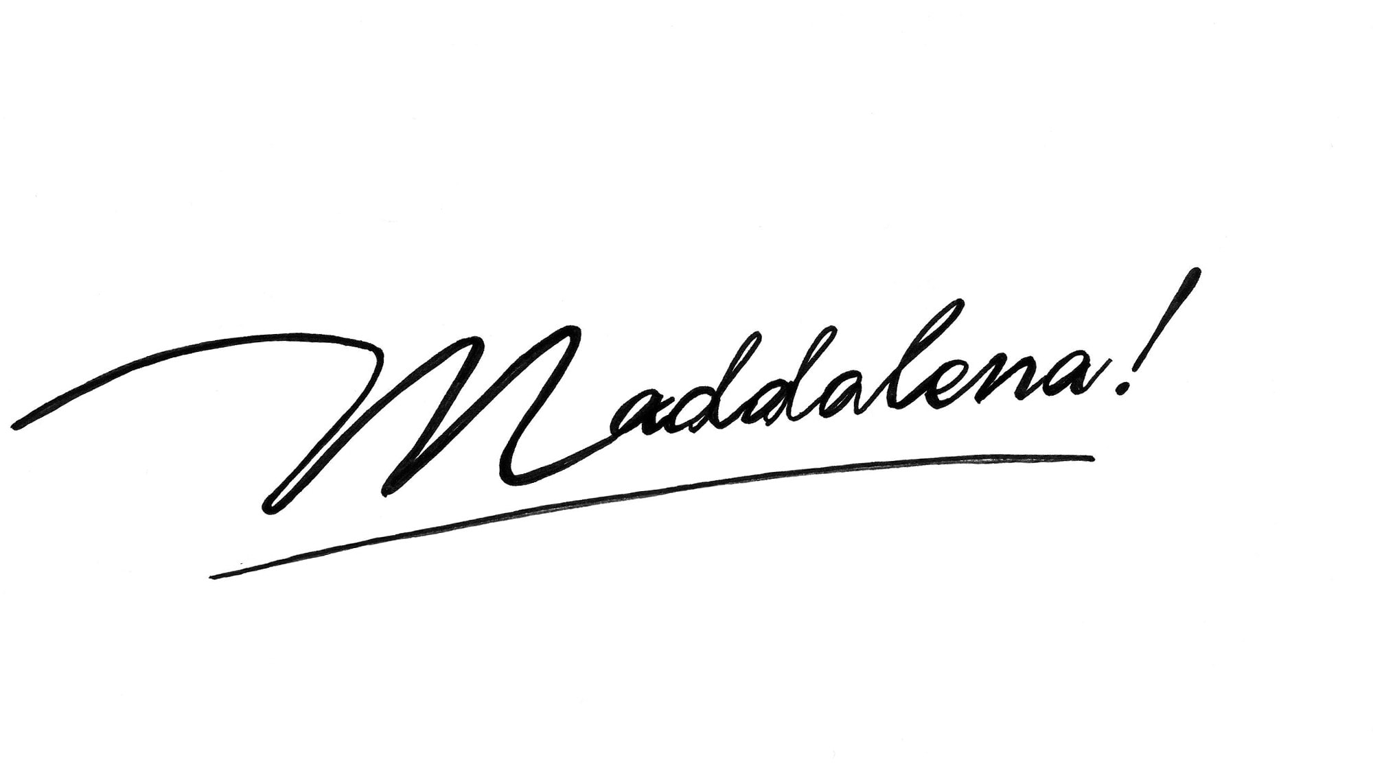 Short movie Maddalena! shown for Milano Design Film Festival