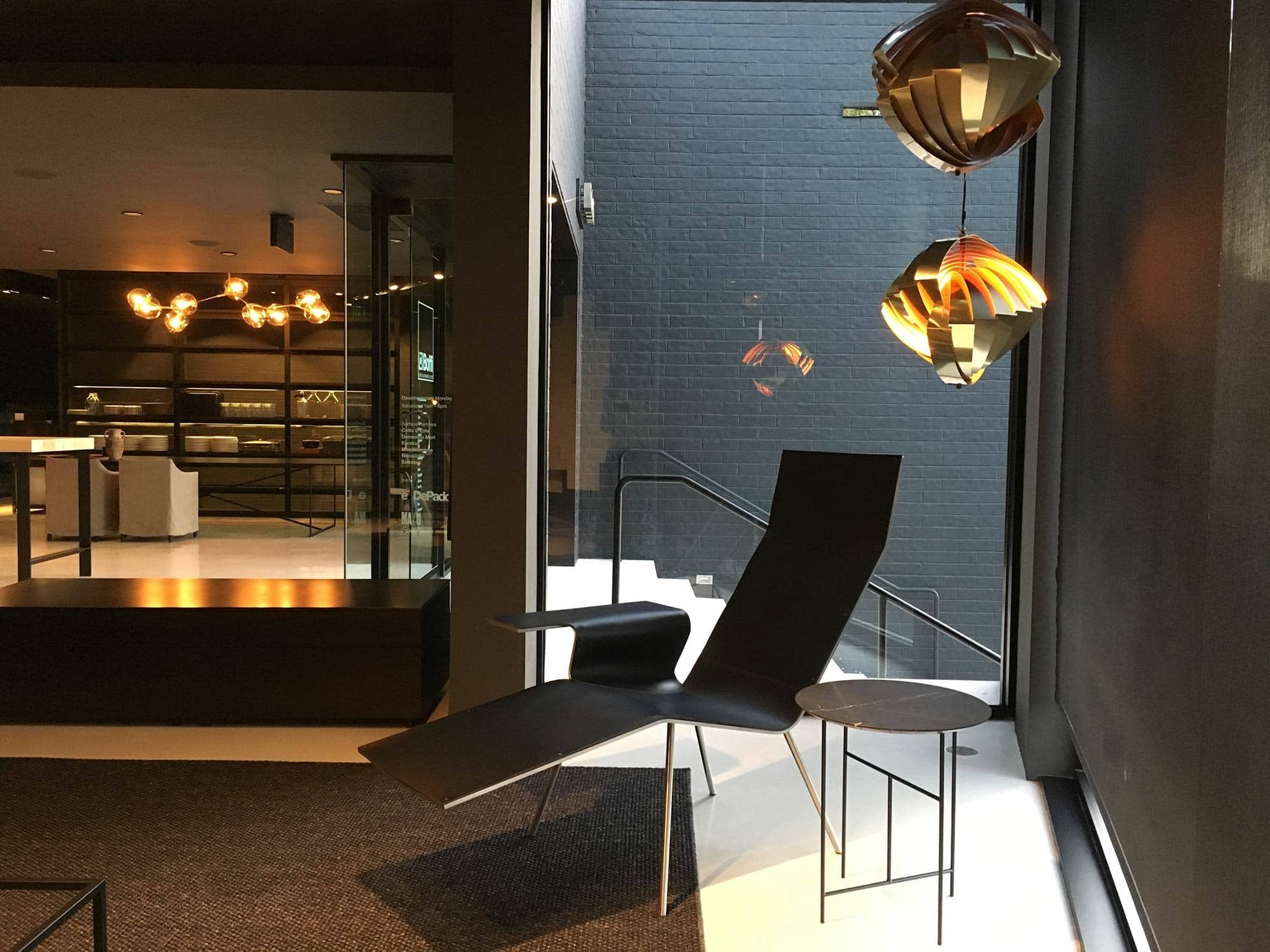 The Boffi Los Angeles showroom changes its display.