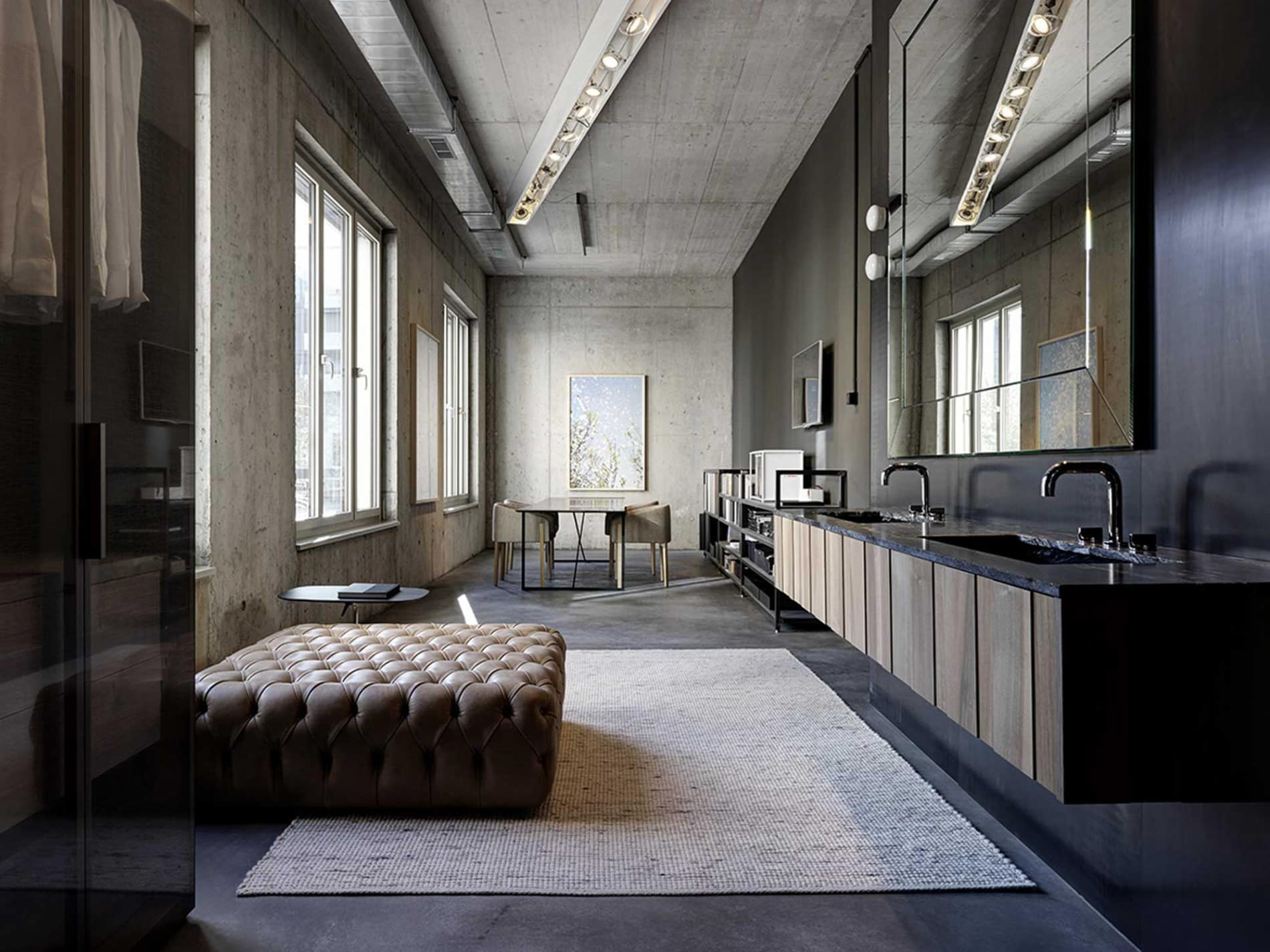 Boffi Zurich: ideal setting for the Boffi, De Padova and MA/U Studio collections.