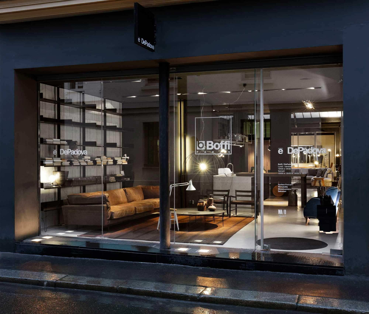 De Padova presenta il nuovo store di Parigi