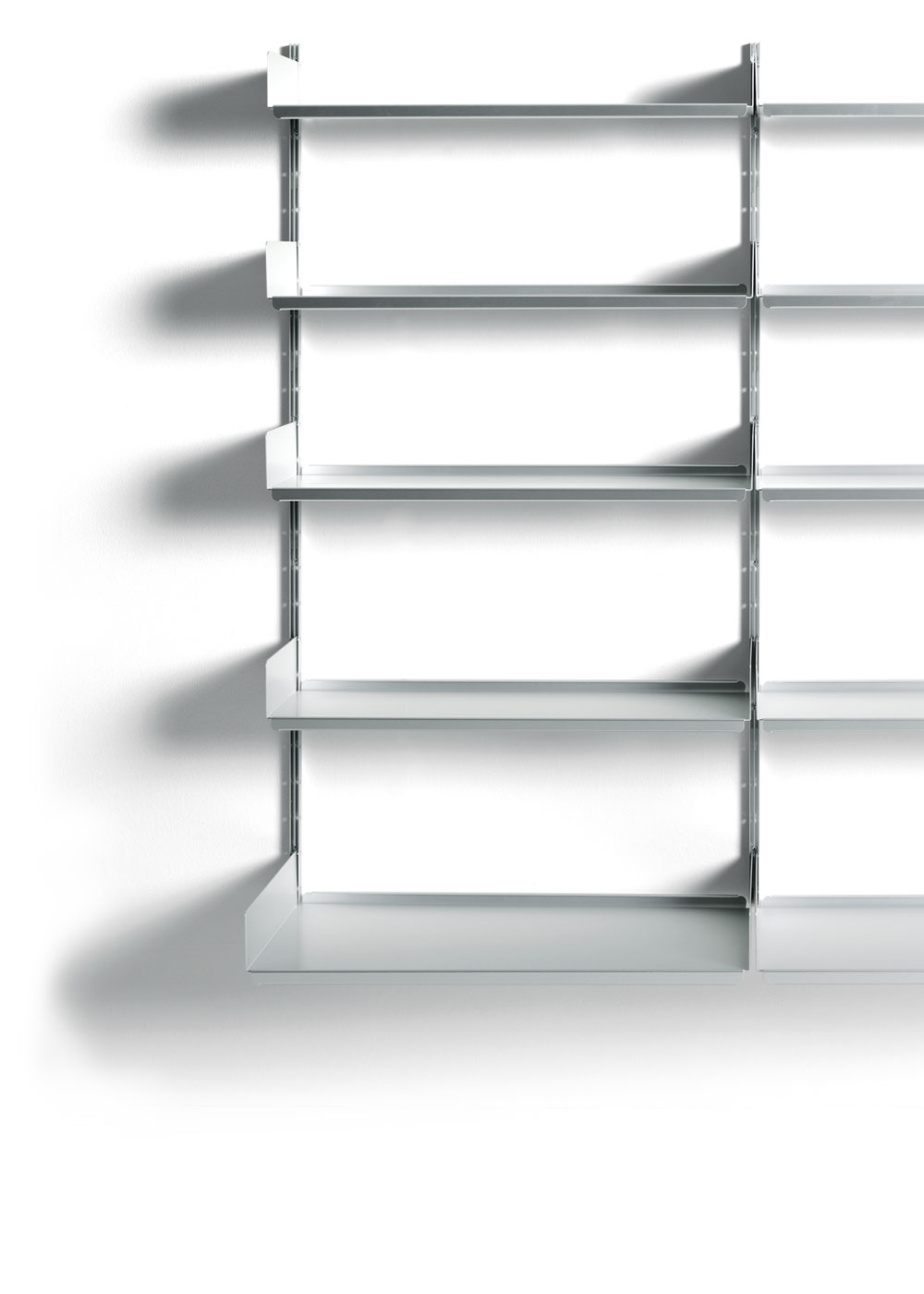 Librerie In Alluminio Moderne.606 Universal Shelving System